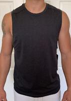 Lululemon Mens Size S Metal Vent Tech Sleeveless 2.0 Gray Black DCO/BLK Tank Run