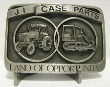 Case 850C Crawler CIH 1586 1170 Tractor Pewter Belt Buckle 1986 Parts Trade Fair