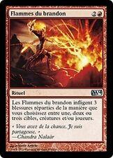 MTG Magic M14 FOIL - Flames of the Firebrand/Flammes du brandon, French/VF