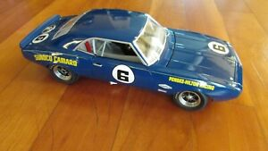 1968 GMP Chevy Camaro Z28 Sunoco trans am race car Penske Mark Donohue 1:18 box