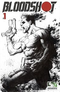 HERO INITIATIVE BLOODSHOT 50 PROJECT Original cover: WHILCE PORTACIO CGC 9.8