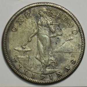 Philippines 1909 Peso 491386 combine shipping