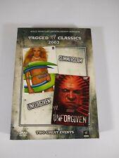 Wwe Tagged Classics 2003 - SummerSlam/ Unforgiven (Dvd, 2008, 2-Disc Set)