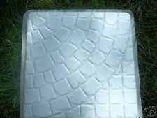 """virtually unbreakable 1/8 """" poly plastic stepping stone mold 18"""""""