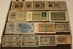 21152 # GERMANY COLLECTION BANKNOTES X 15 [1923]