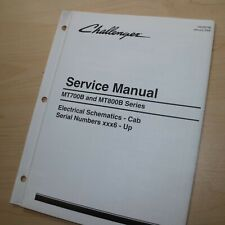 CATERPILLAR CHALLENGER MT700 MT800 Series Tractor CAB Service Schematic Manual 6