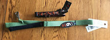"Eco Dog Leash Green 1-In. x 6-Ft. Collar 3/4"" Adjustable 9-14"" Down Under NEW"