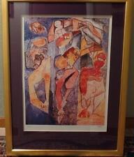 """1998 LIMITED 816/2500 """"WINNING TOGETHER"""" LITHOGRAPH SIGNED ALEXANDRIA NECHITA VG"""