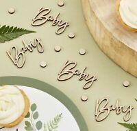 COCO /& BO-Bienvenue petit moldu Baby Shower Party Pack-Poster /& Table Confettis