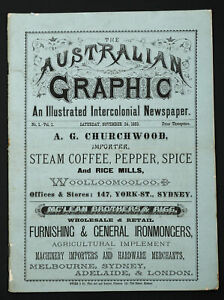 The Australian Graphic The Australian Graphic An Illustrated Intercolonial Newsp