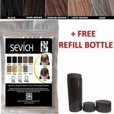 Sevich (ex-Future) HAIR BUILDING Fibers Bulk Bag 100g KERATIN+FREE REFILL BOTTLE