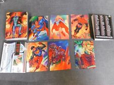 1994 DC Comics Master Series Trading Cards COMPLETE BASE SET, #1-90 NM/MT Skybox