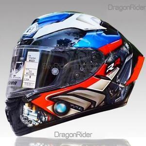 SHOEI Full Face Motorcycle DOT Helmet X14 RRS HP44 Marquez Anti-fog visor Helmet