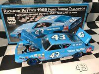Richard Petty #43 7UP 1969 Ford 429 Torino Talladega 1/24 100th WIN WIX ICONS