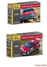 2 Heller 1:43rd AUTO CITROEN XSARA WRC 05 Rallye de - & PEUGEOT 206 WRC 03