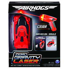 Air Hogs 6054126 Zero Gravity Laser, Laser-Guided Real Wall-Climbing Race Car,