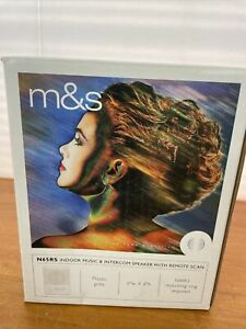 """M&S N65RS Intercom 8"""" Speaker Room Station, White Color Finish"""