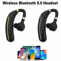 Wireless Bluetooth V5.0 Headset Sport TWS Stereo Headphone Earphone in Ear-Hook