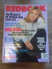 REDBOOK MONTHLY MAGAZINE - MEG RYAN - BEAT CELLULITE - JUNE 1994