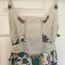 Colourful, Floral Ghulam Sakina Summer Dress, Size 12