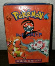 Hot Water Pokemon Theme Deck Base Set 2 Sealed (Squished Box) New, Complete