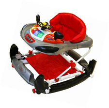 Premium Bebe Style F1 Car Baby Walker Assitant Bouncer - Racing Red