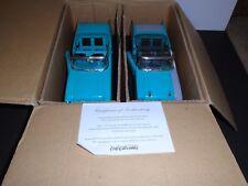 Ertl 1957 Chevrolet Bel Air 2 Pack Restored + Unrestored Versions 1:18 Diecast