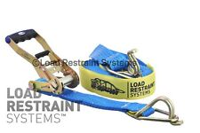 Ratchet Tie Down Strap 50mm x 9mtr 2500kg capacity , Tiedown, Load Restraint