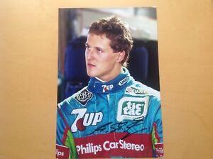 Michael Schumacher  ### Jordan ###.......original signiert.....20x30 cm