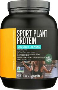Super Plant Protein Whole FoodsCoconut Almond