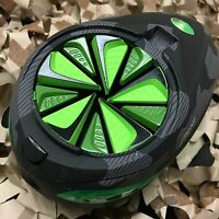 NEW Exalt Paintball Dye Rotor Loader - Fast Feed - Speed Gate Lid - Lime Green