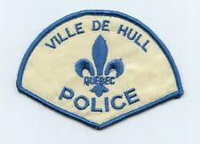 Ville de Hull Police, Quebec, Canada HTF Vintage Uniform/Shoulder Patch