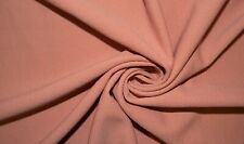 Rose Pink Liverpool #60 Double Knit Stretch Polyester Lycra Spandex Fabric BTY