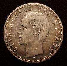 Kgr. Bayern, 5 Mark 1904 D