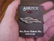 siskiyou fine pewter honda shadow motorcycle tack hat lapel pin NEW on card