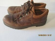 Timberland Brown Leather Low Boot Casual Oxford  size 12
