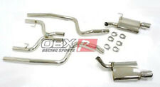 OBX Dual Catback Exhaust System 05 06 07 08 09 10 Ford Mustang V6 4.0L