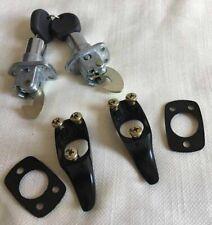 Decklid Lock Rear Hatch Engine Hood 2 Lock Handle Kit with 2 Keys Black 13239761
