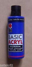 #) MARABU BASIC ACRYL peinture acrylique BLEU MOYEN