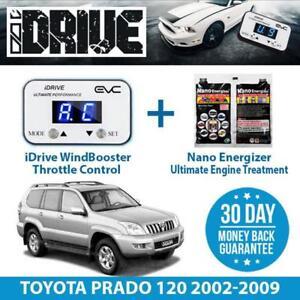 IDRIVE THROTTLE CONTROL FOR TOYOTA PRADO 120 2002-2009 + NANO ENERGIZER AIO