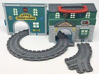 Thomas & Friends Take Along Sodor Engine Works Playset Track Learning Curve