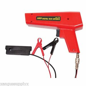 ES 125 Timing Light LED with Digital 2 stroke and 4 stroke Tach and Advance