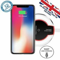 Fast Qi Wireless Charging Charger Dock Pad For Samsung Galaxy Apple iPhone Xs S9