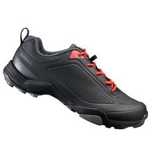 New Shimano MT3 Men's Trekking Casual Bike Shoes - Black / Red - Size 48