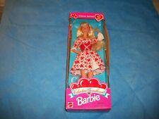 Valentine Sweetheart Barbie 1995 MIB Doll