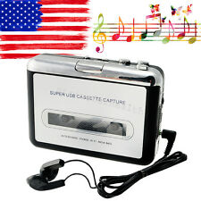 From USA Tape to PC Ipod CD Cassette-to-MP3 Converter Capture Audio Music Player