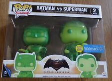Funko Pop! Batman Vs Superman 2 Pack Glows in the dark Walmart
