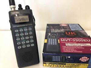Yupiteru MVT 3300EU Multi-band radio receiver/scanner, boxed, mint