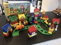 ELC Mega Bloks Retvik 31805 Build And Play Train Town. Boxed.