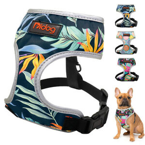 Breathable Mesh Soft Dog Harness Safety Pet Puppy Cat Walking Vest Small Medium